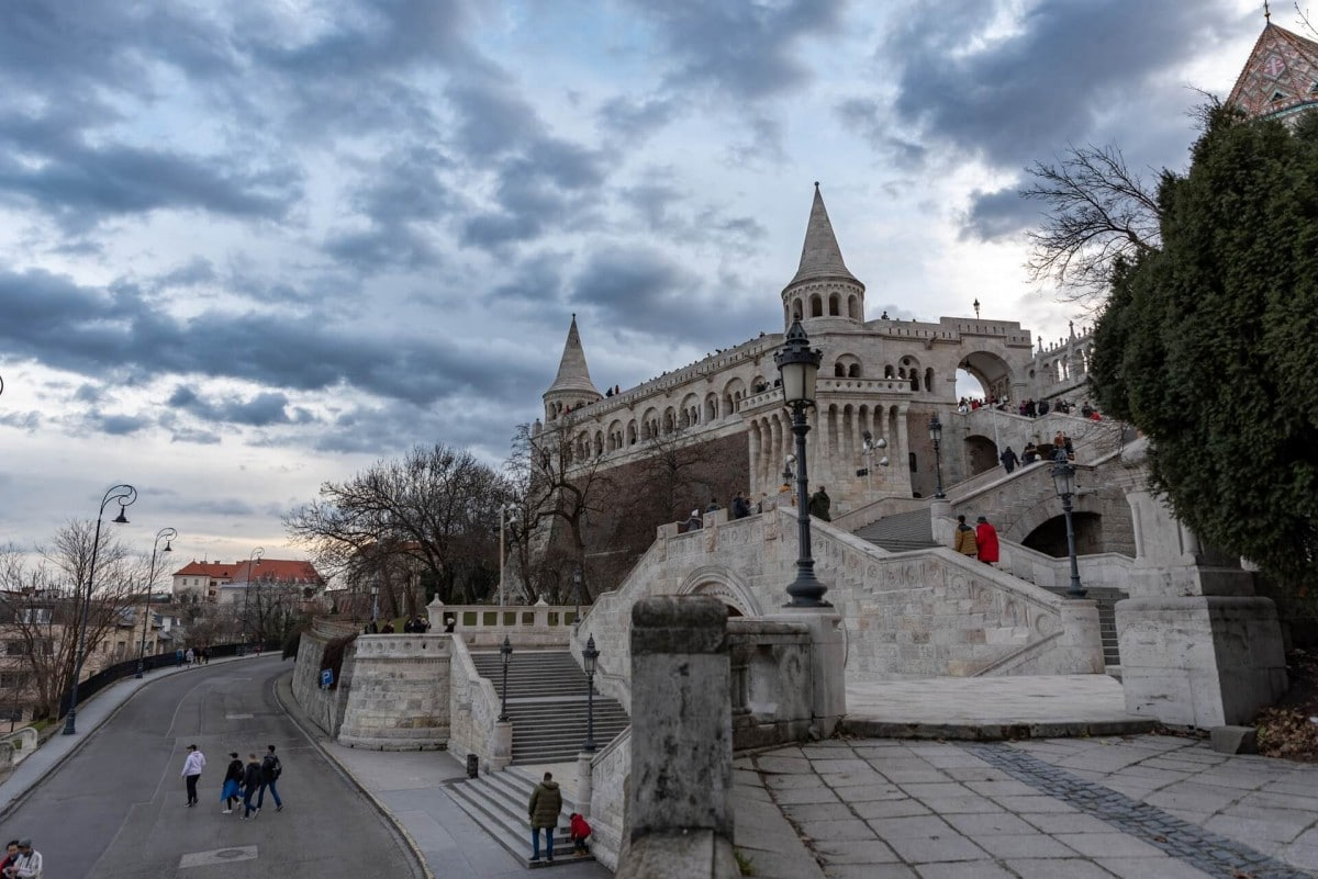 2 days in Budapest itinerary - Fishermans Bastion