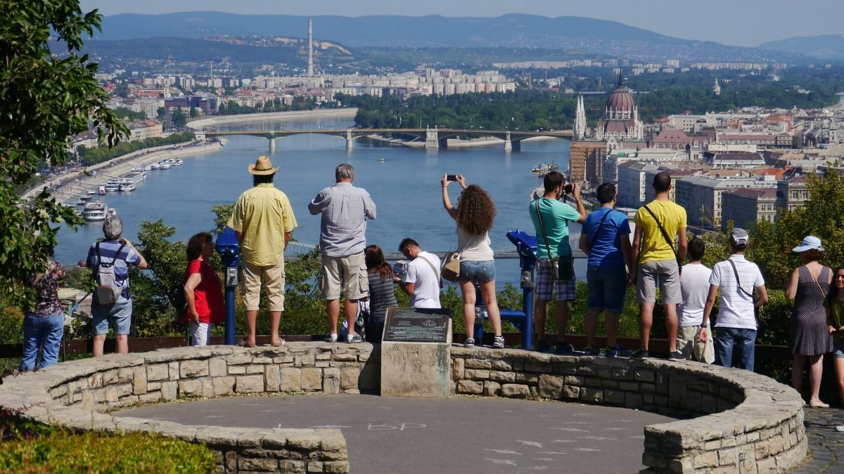 2 days in Budapest itinerary - Gellert Hill
