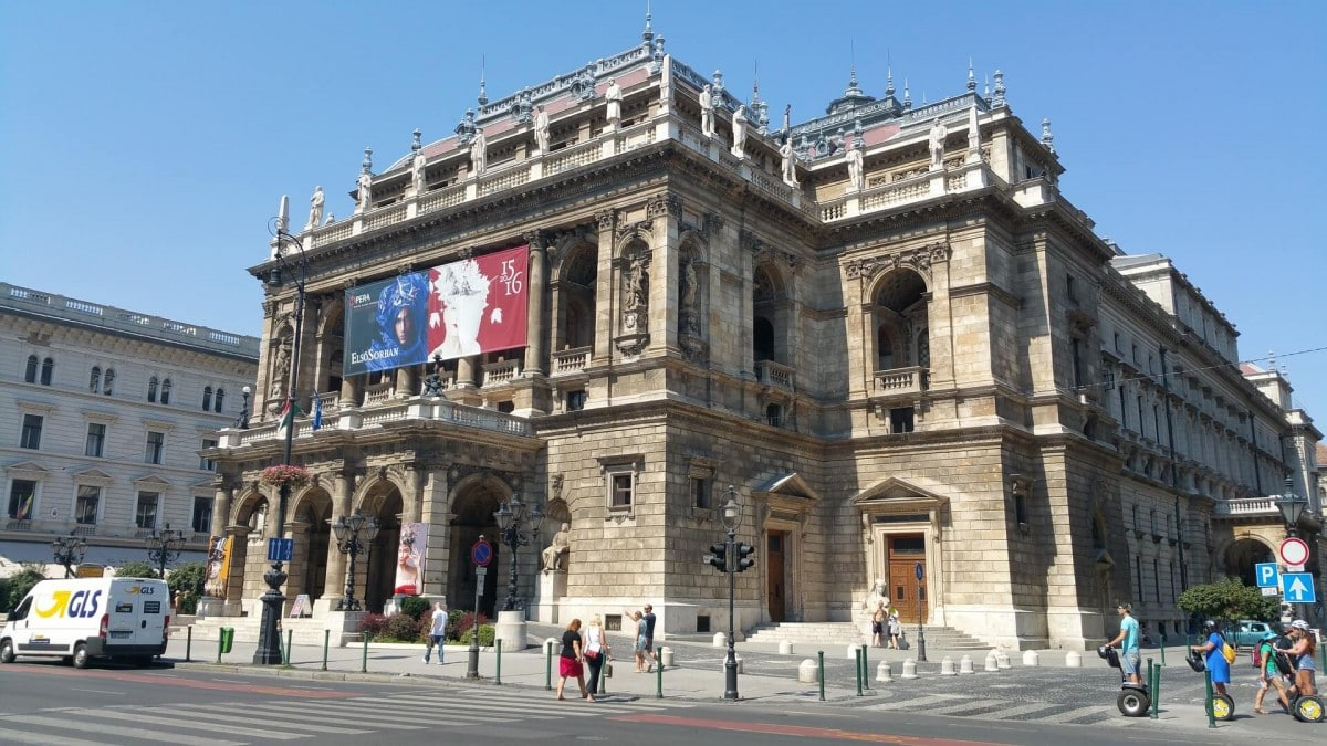 2 days in Budapest itinerary - State Opera House