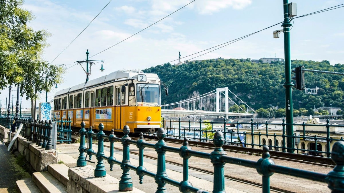 2 days in Budapest itinerary - Tram