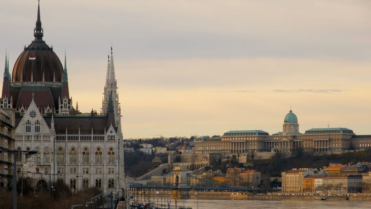 2 days in Budapest itinerary - generic landscape