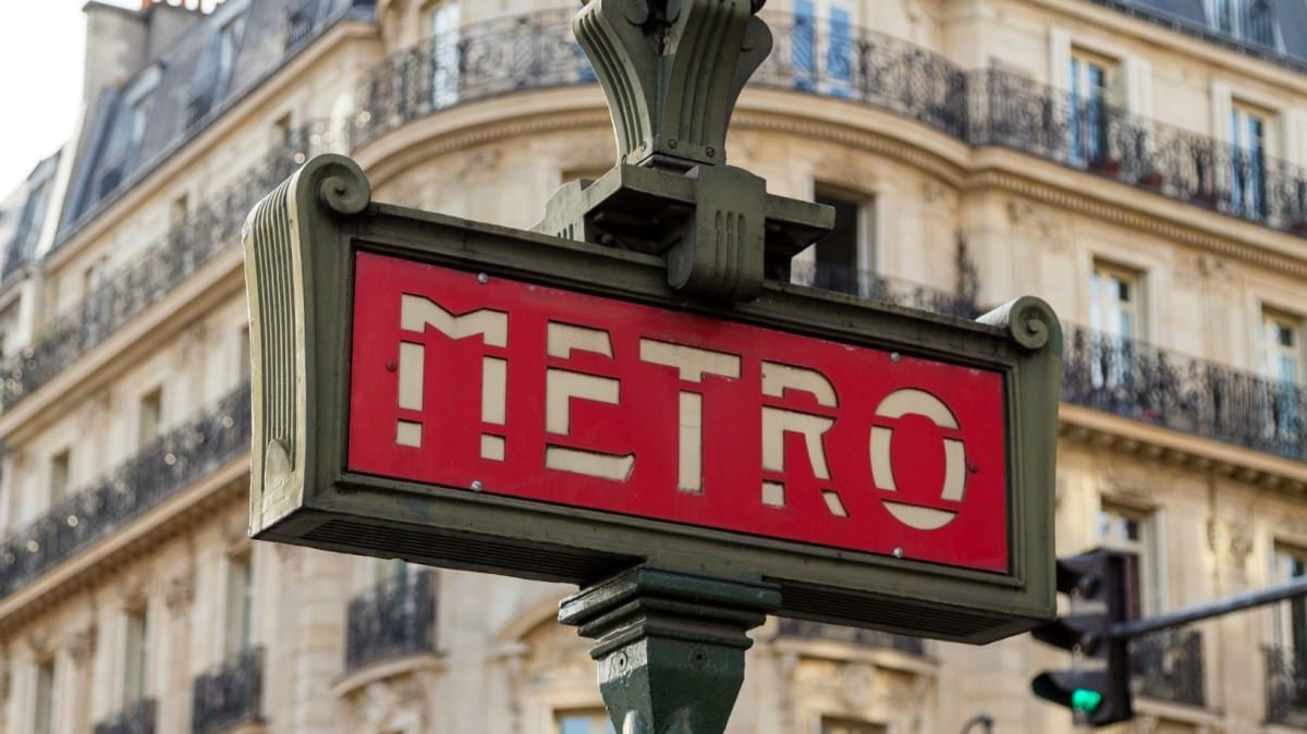Metro - best way to get around Paris