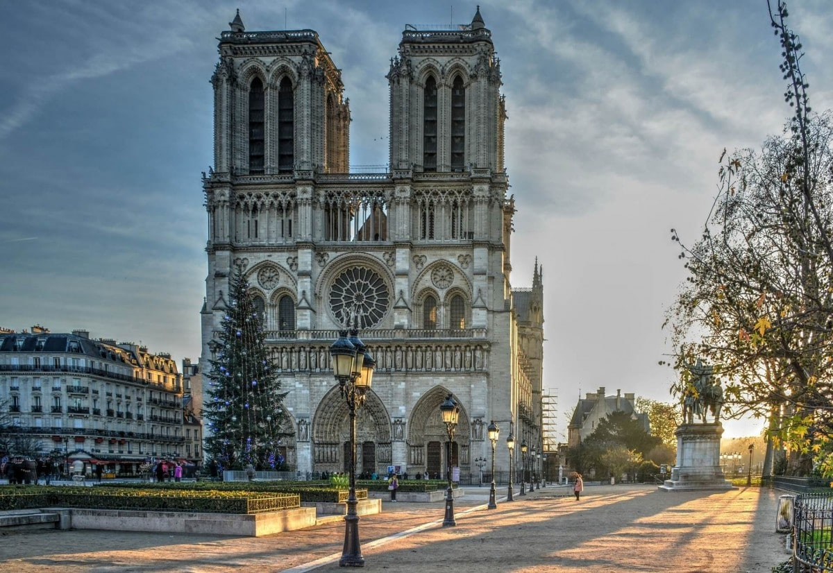 2 days in Paris itinerary - Notre Dame before the fire