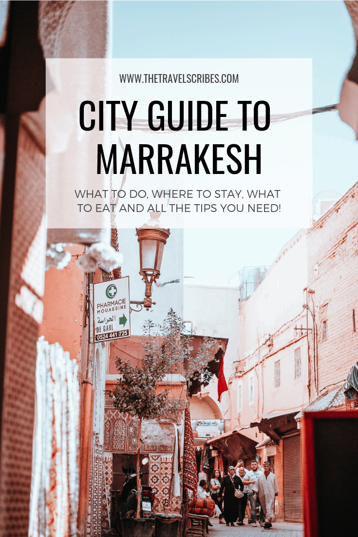 City Guide to Marrakesh