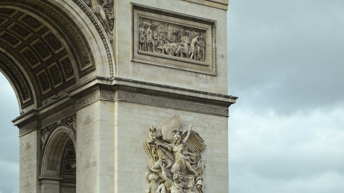 Plan a trip to Paris - Arc de Triomphe
