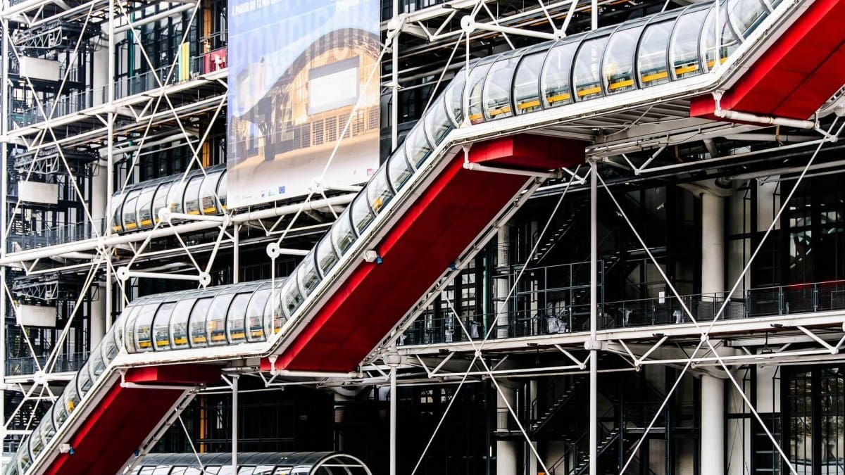Paris 2 day itinerary - Centre Pompidou