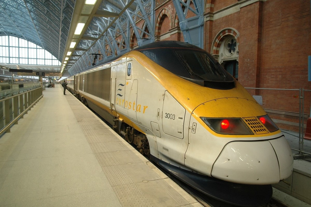 The Eurostar connects you easily to Paris, France