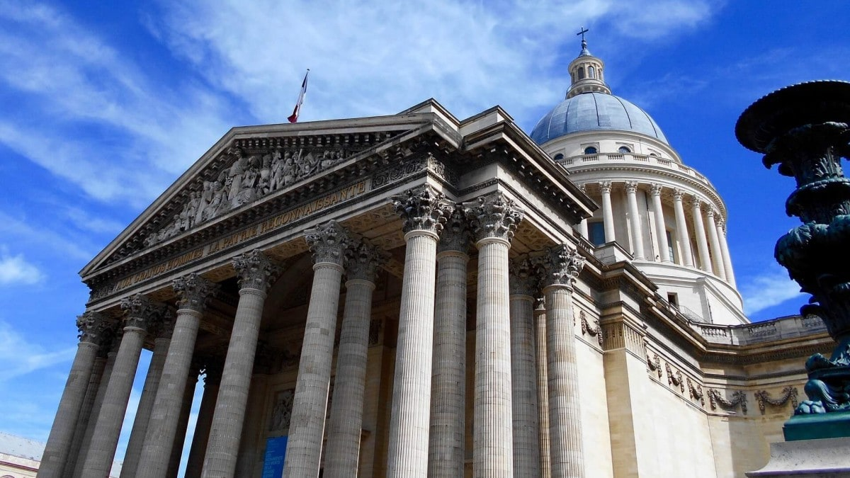 Paris 2 days itinerary - Pantheon in Latin Quarter