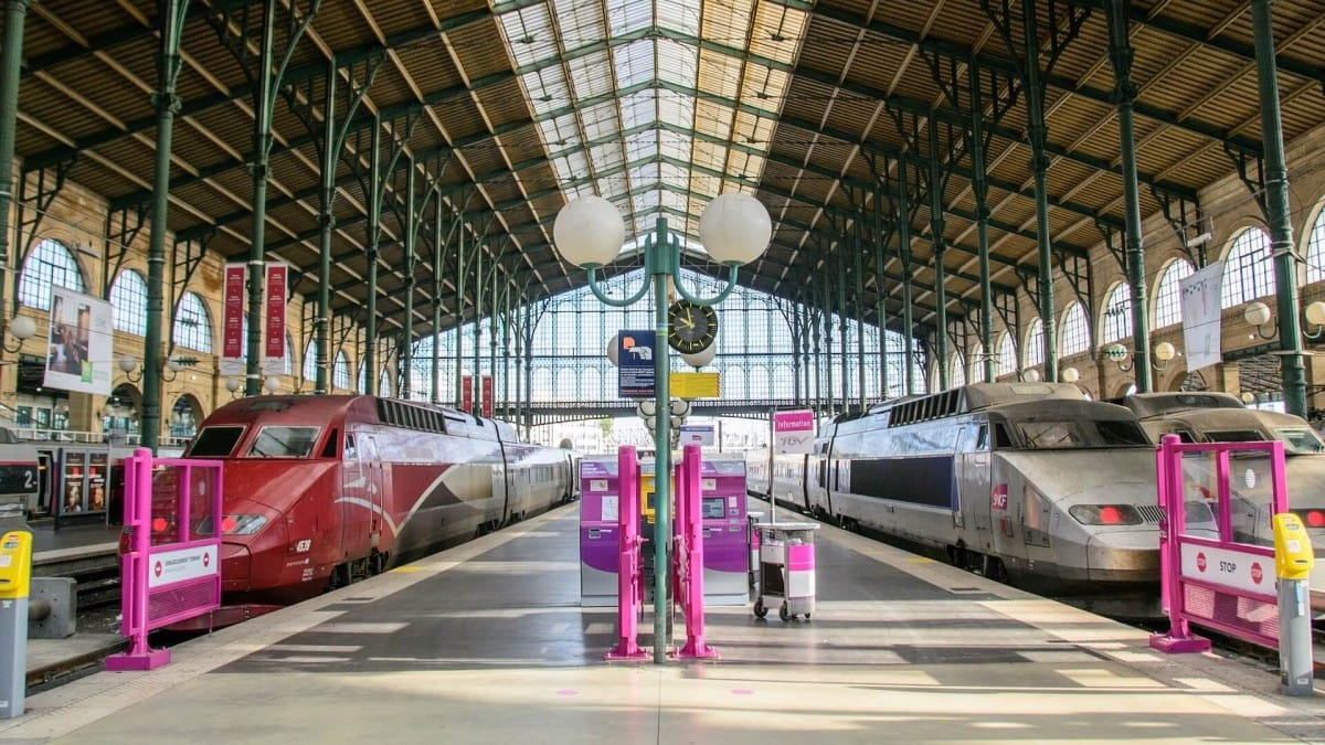 You can get to Paris via train