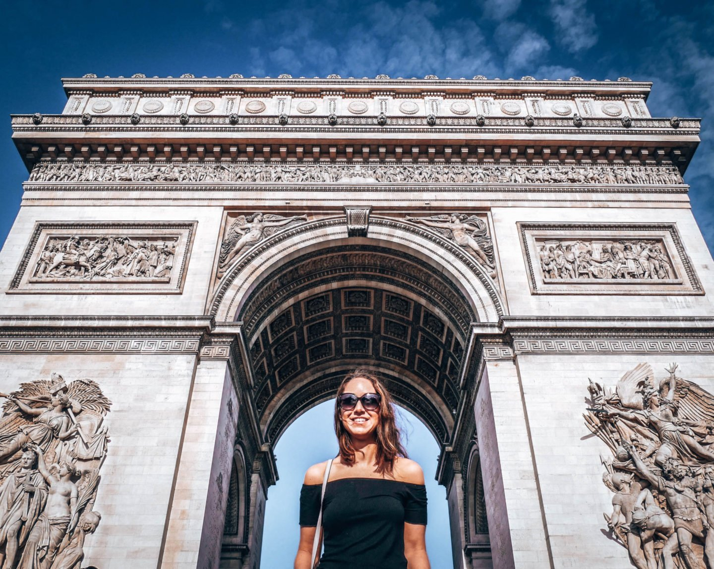 2 days in Paris - the Arc de Triomphe