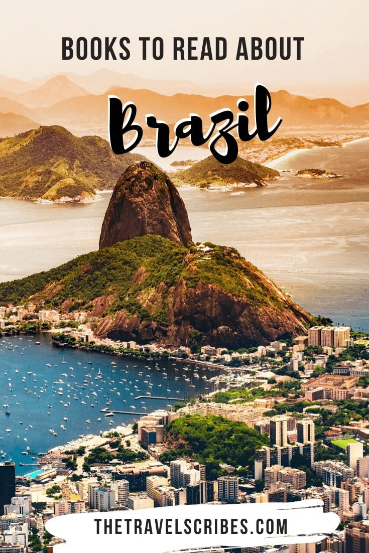 Books about Brazil - ones to read before you go pin