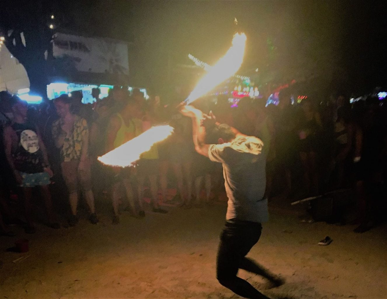 Full Moon Party Fire Sticks