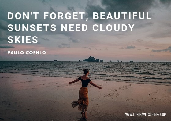 Sunset quotes - Paulo Coehlo