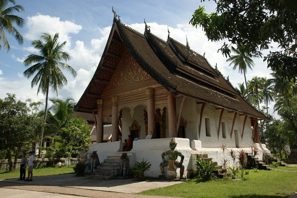 Wat Aham, another amazing example of temples in Luang Prabang