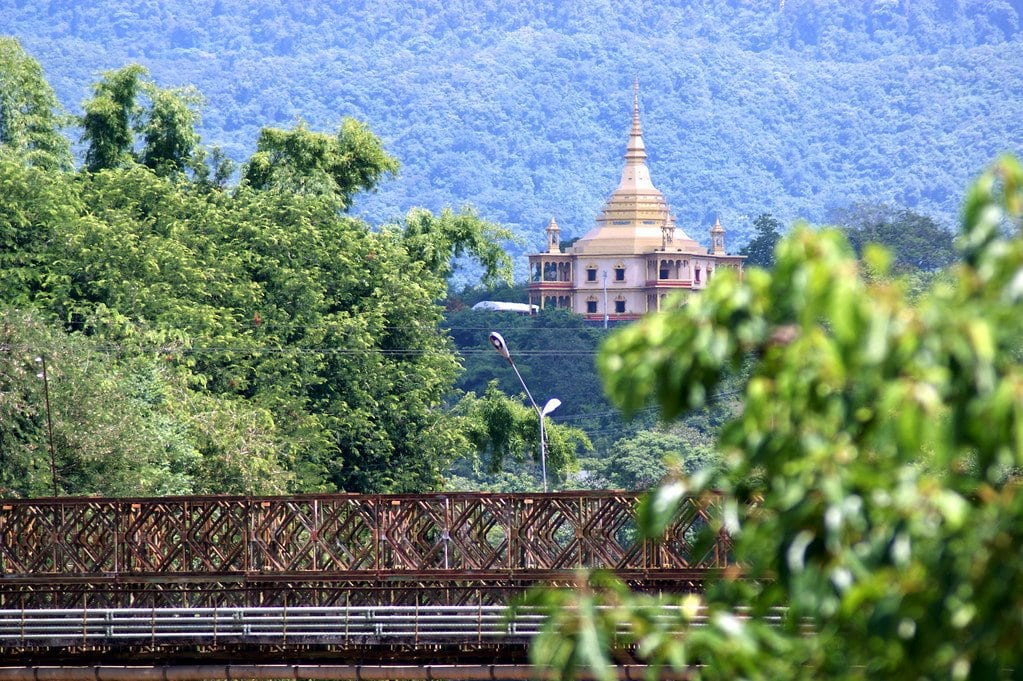 A little bit out of town but Wat Phon Phao is another great examples of Luang Prabang temples