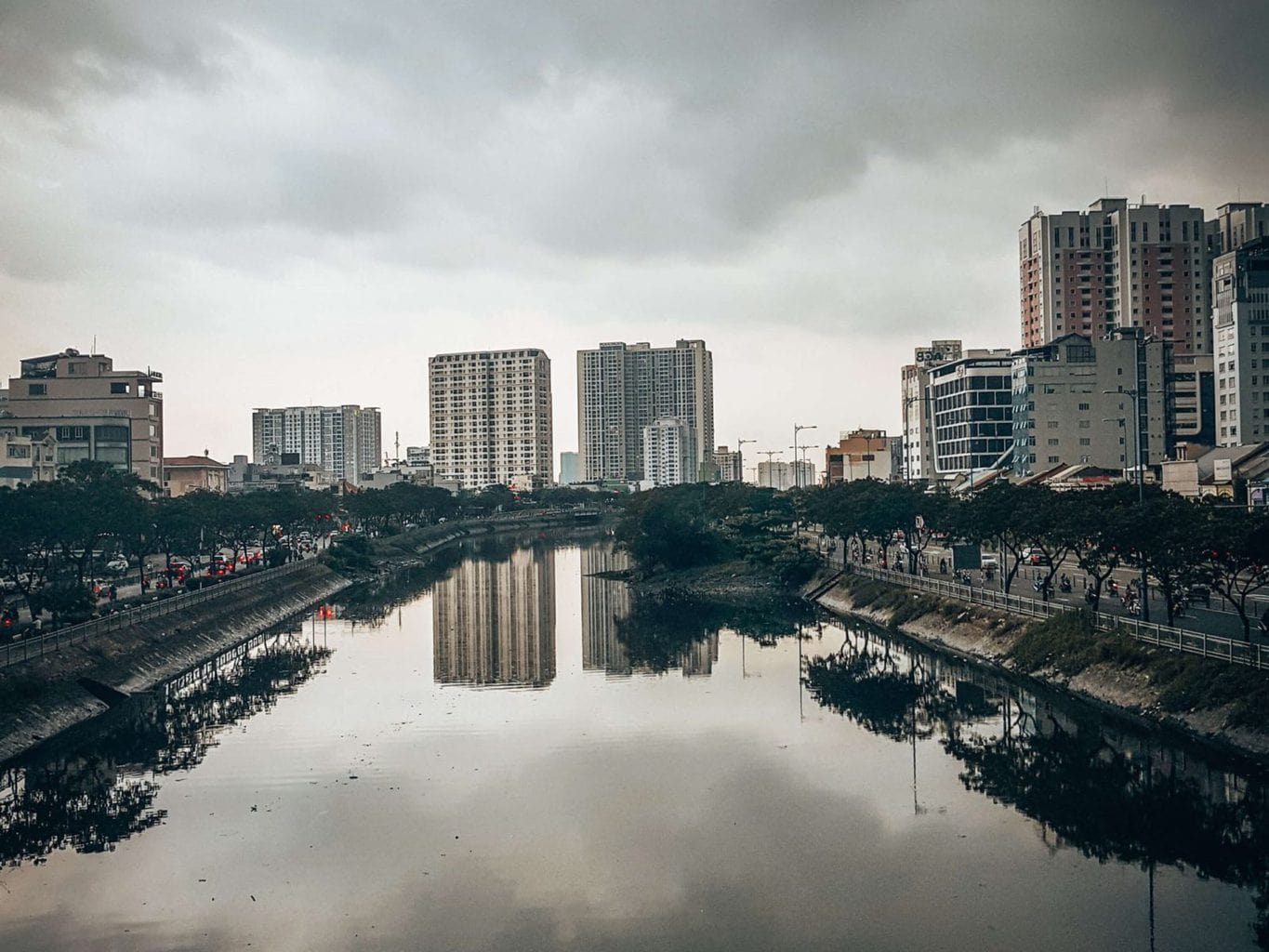 Picture of view across Ho Chi Minh City