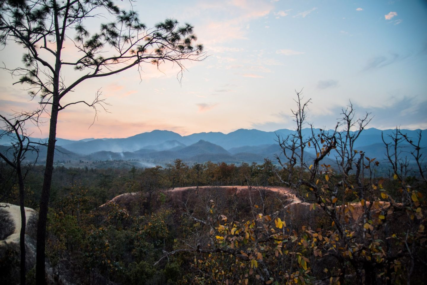 Picture of the view from Pai Canyon, Thailand