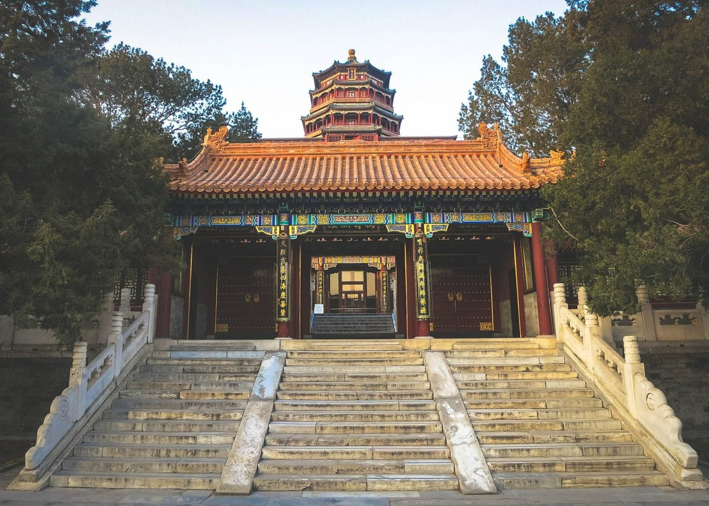 Picture of the Summer Palace in Beijing, China