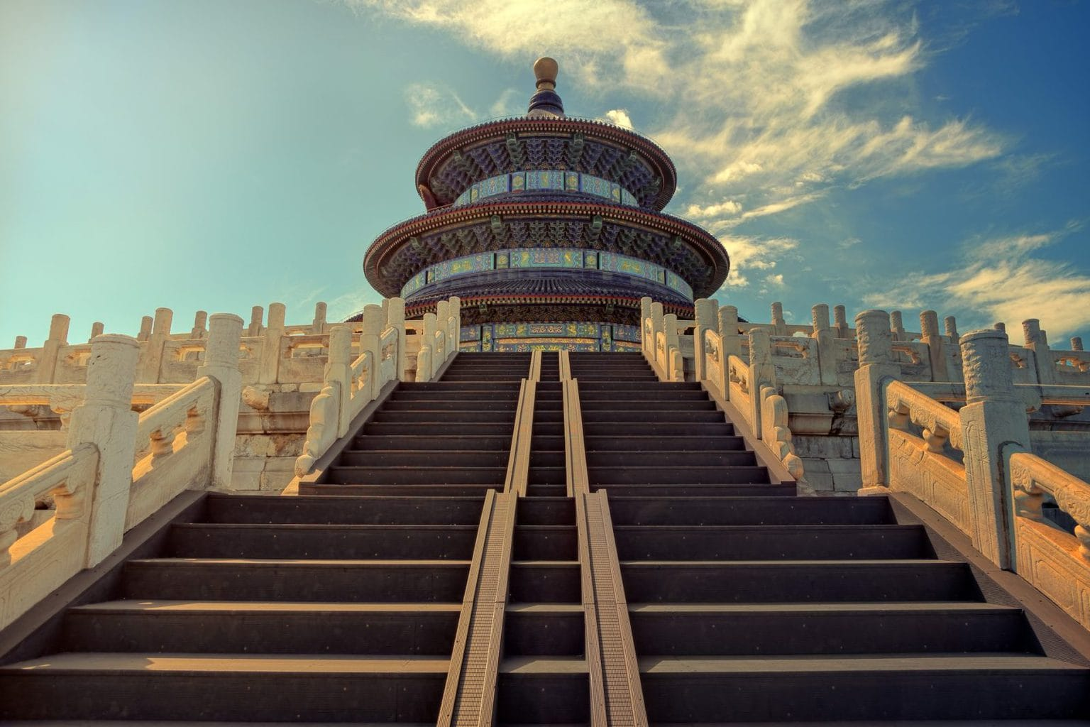 Picture of the Temple of Heaven in Beijing, China