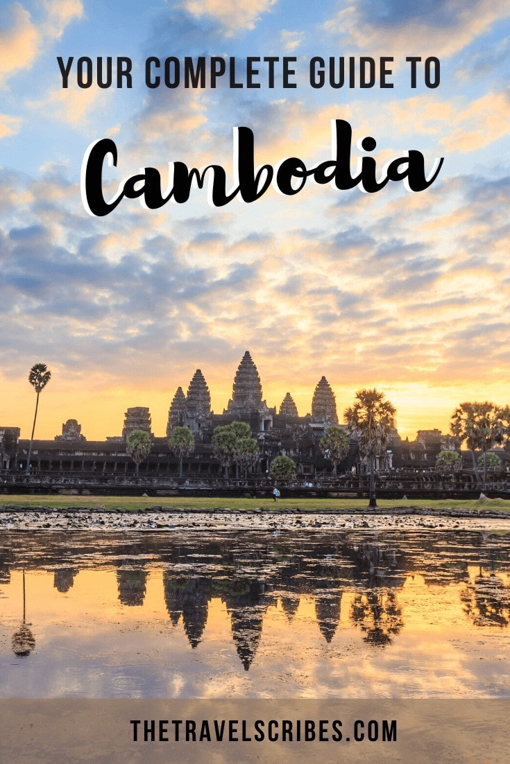 10 days in Cambodia itinerary Pinterest Pin