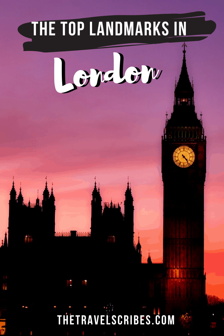 Landmarks in London - Pinterest