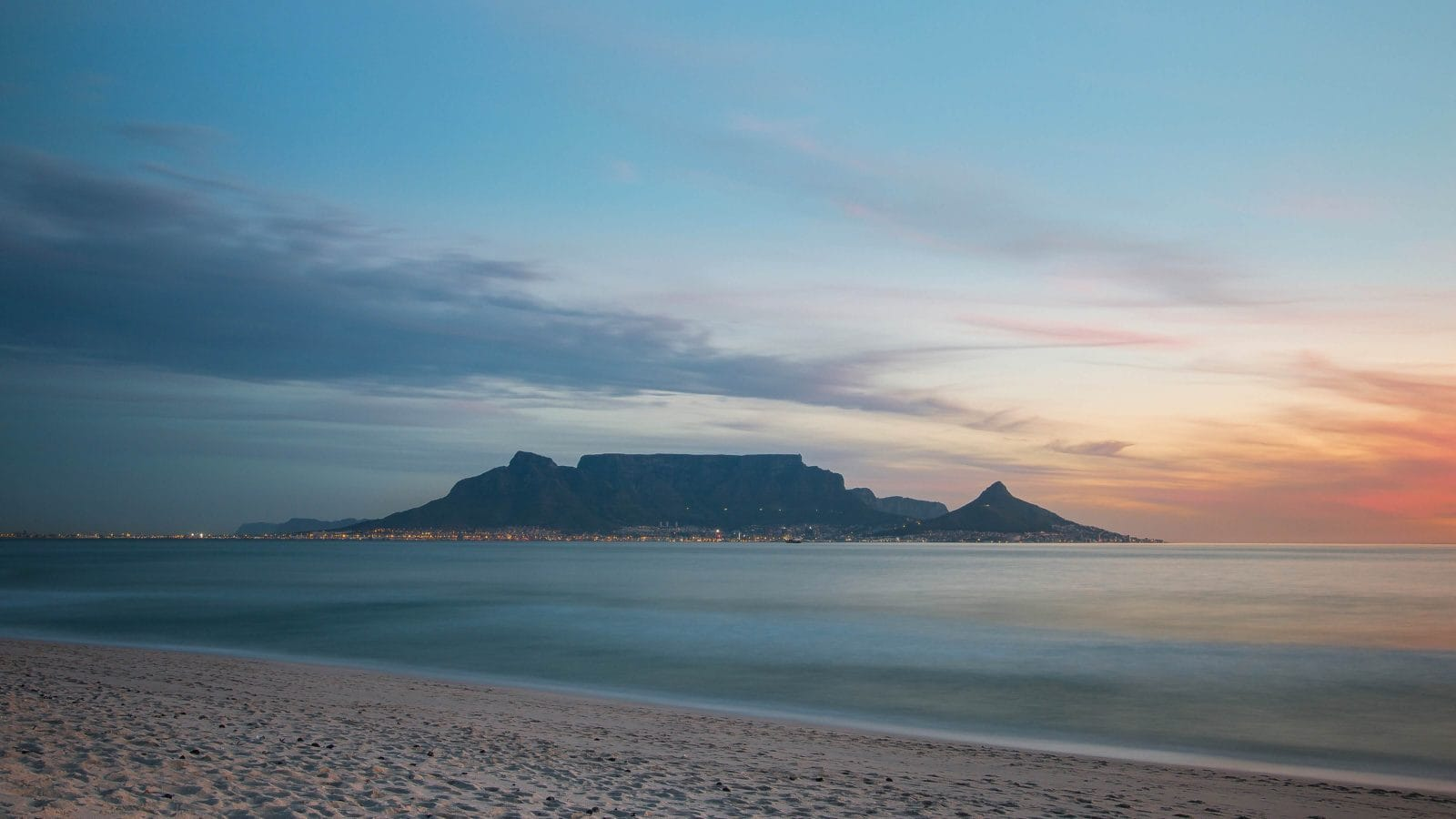 Image of Table Mountain taken from Blouberg Beach