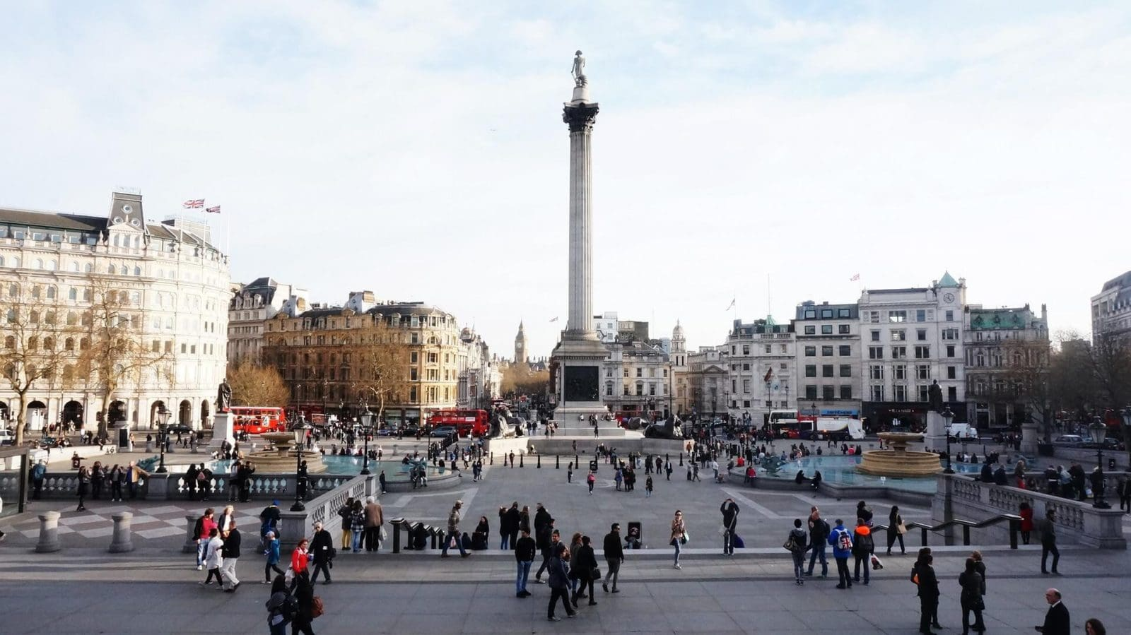 Trafalgar Square in London United Kingdom