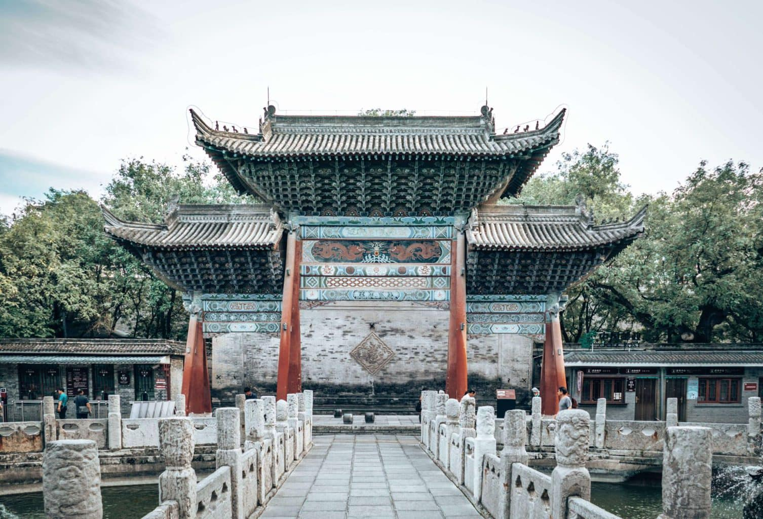 Image from the grounds of the Beilin Museum in Xian China