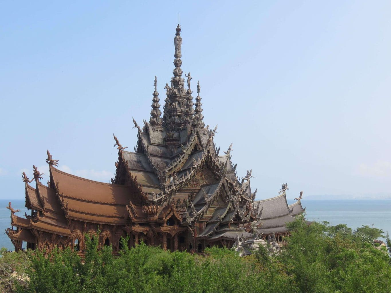 Landmarks in Thailand - Sanctuary of Truth Pattaya