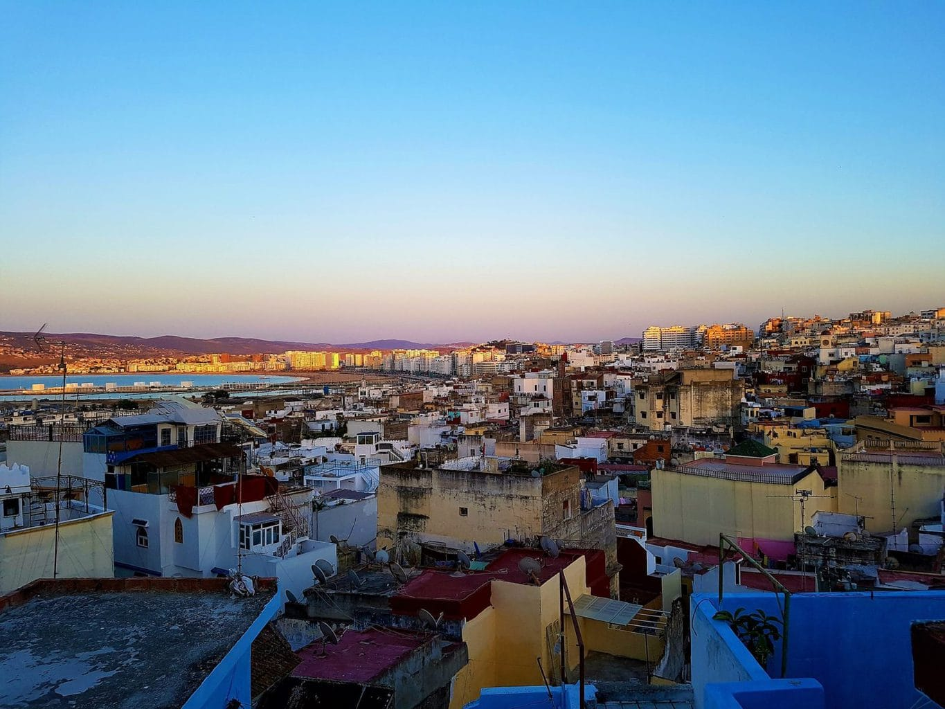 One week in Morocco - Tangier from above