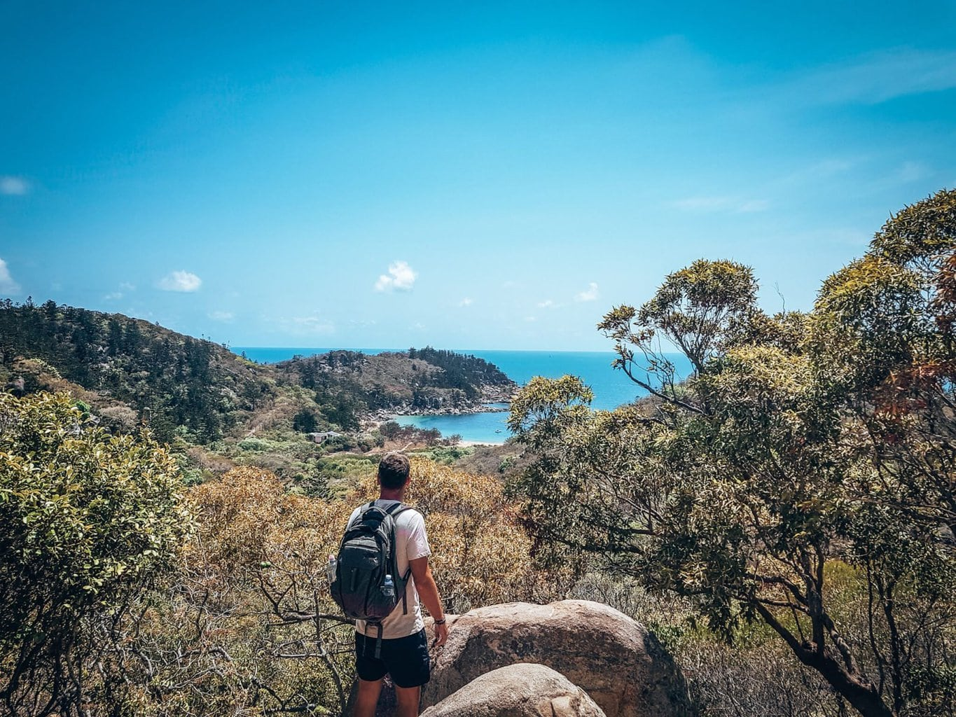 Doing the Forts Walk on Magnetic Island
