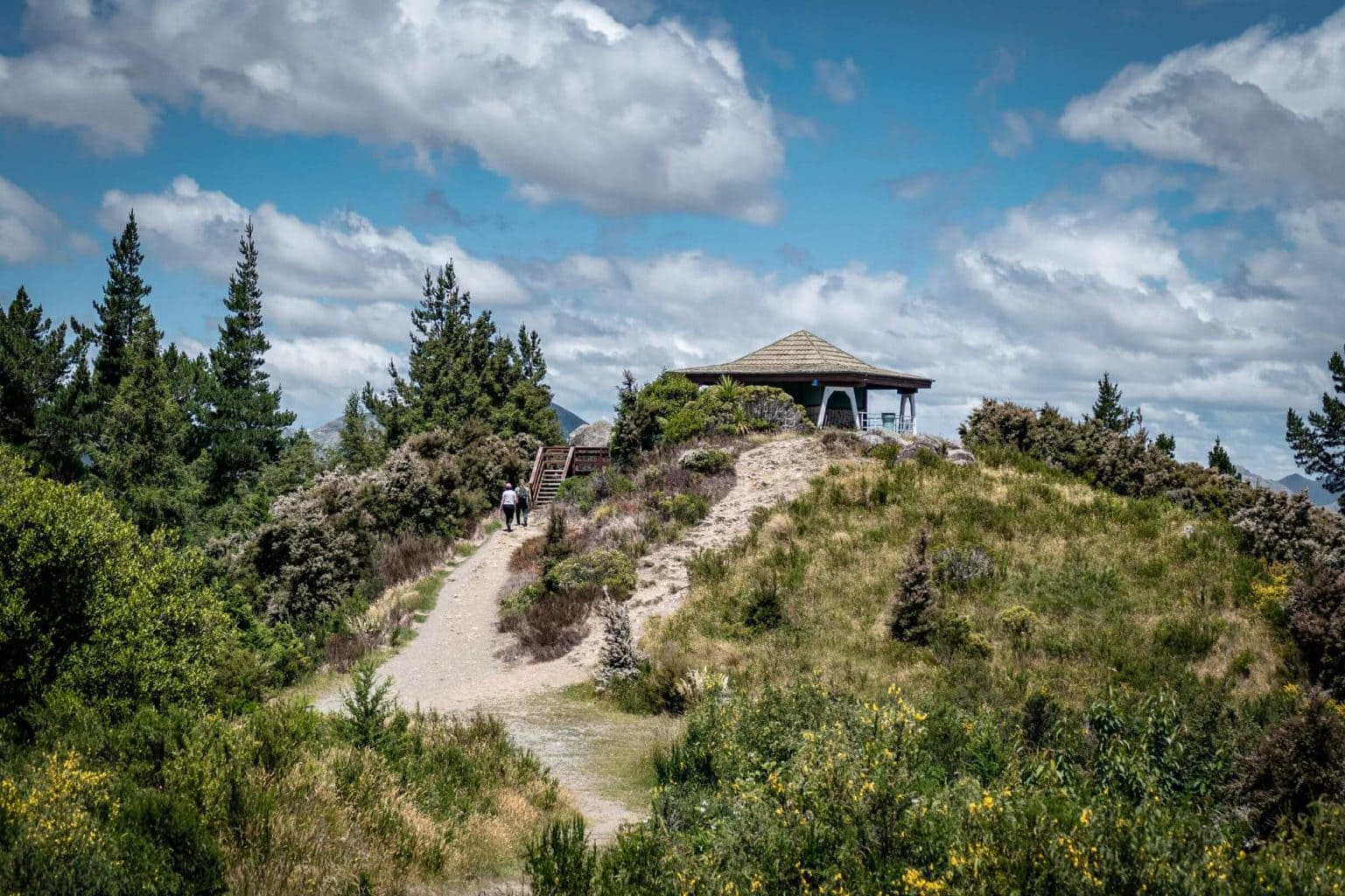 Hike Conical Hill in Hanmer Springs