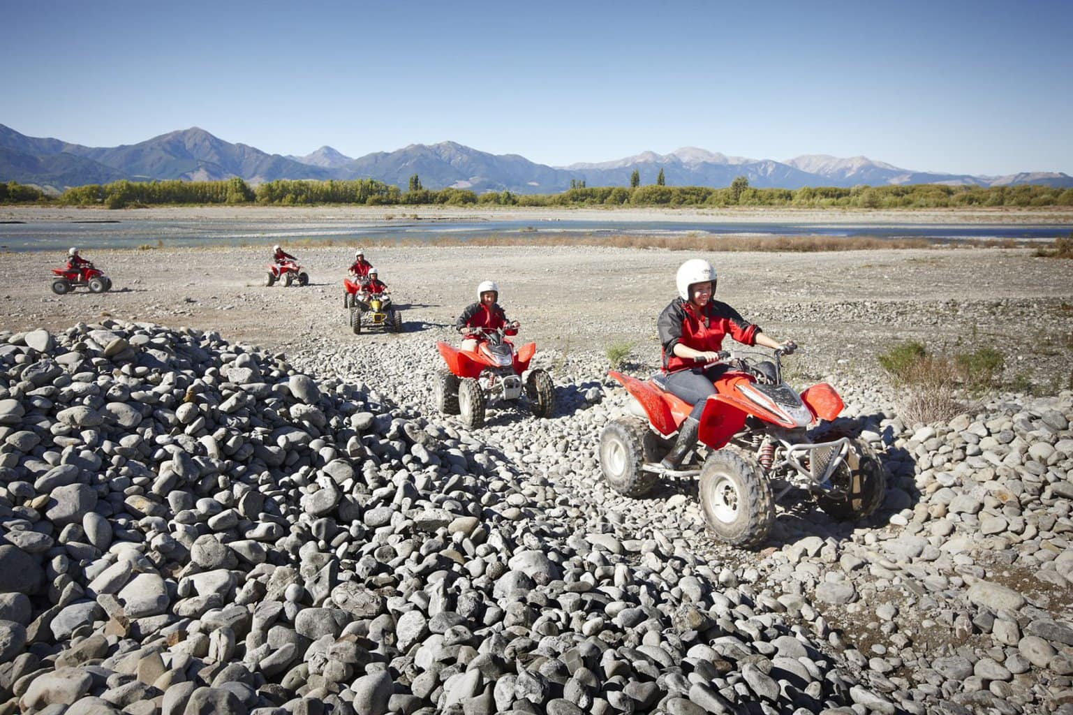 Quad biking another adventure activity in Hanmer Springs