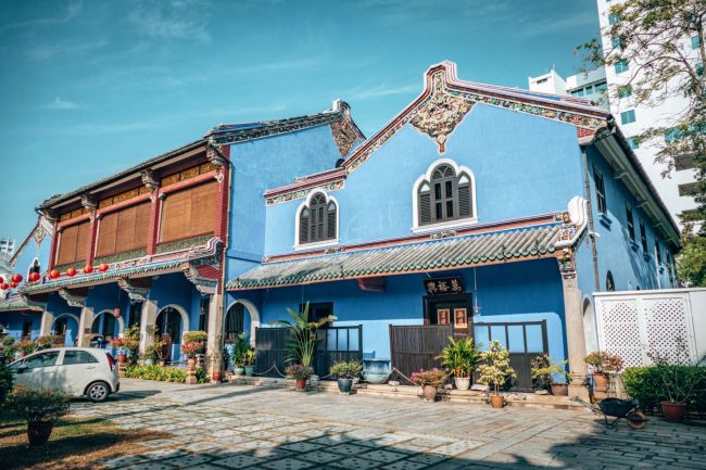 Penang Blue Mansion