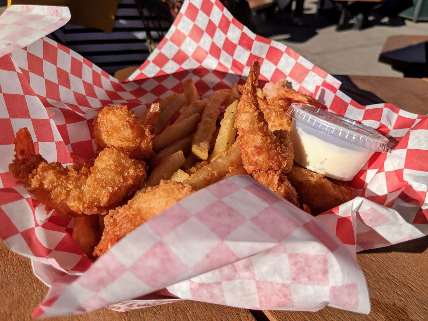 Fish and chips in Russell