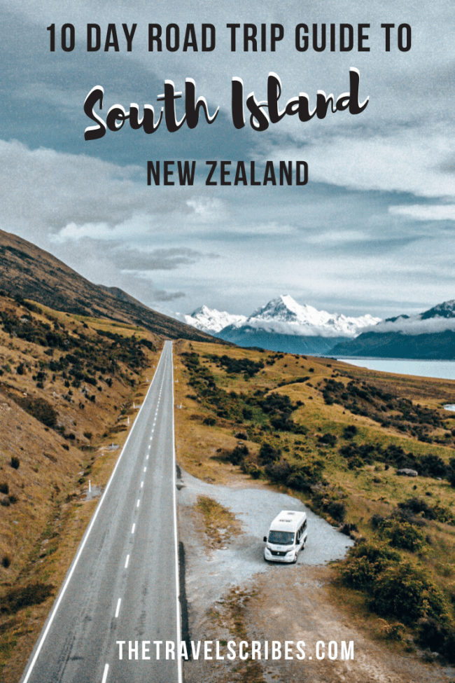 10 day New Zealand South Island itinerary