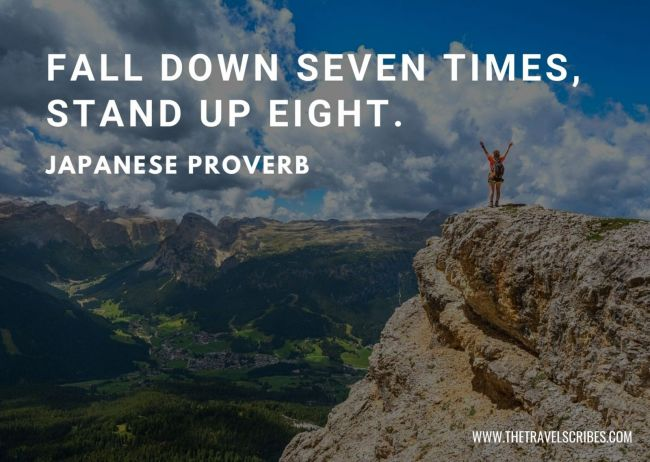 Motivational quotes about hiking