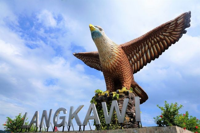 Dataran Eagle in Langkawi