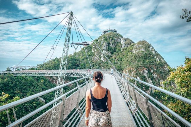 Sky Bridge in Langkawi