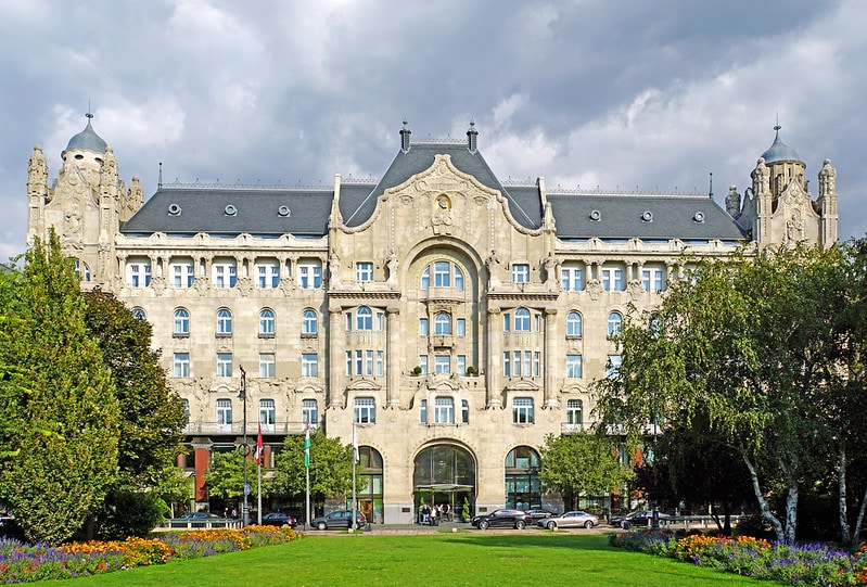 2 days in Budapest itinerary - Gresham Palace