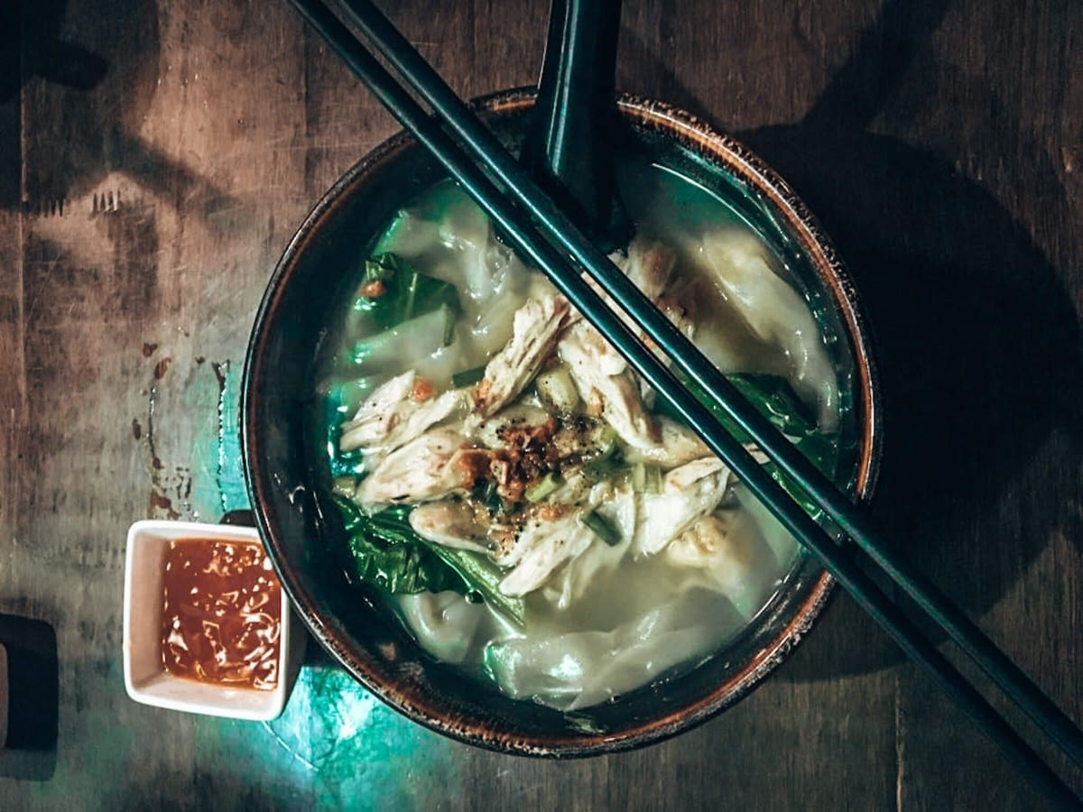 3 days in Yangon itinerary - shan noodles
