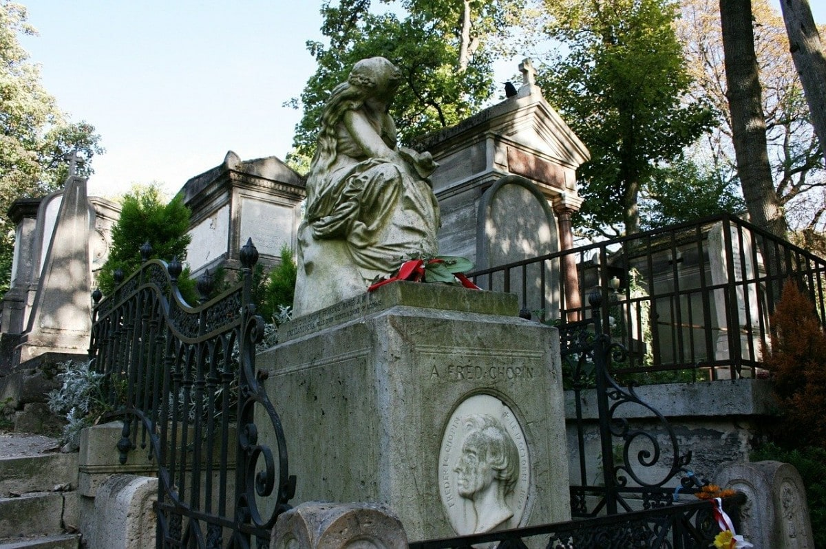 Paris itinerary 2 days - Pere Lachaise cemetery