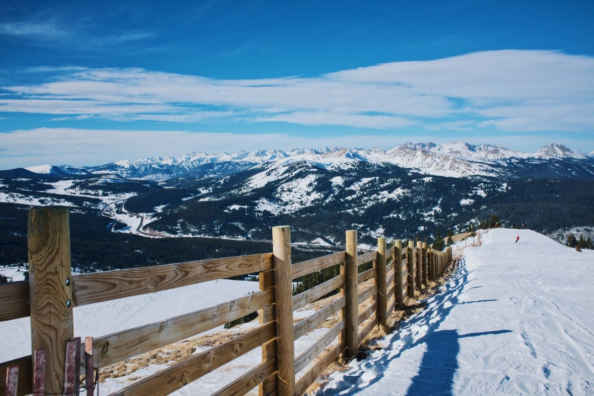 Breckenridge Colorado, one of the stops on a USA road trip