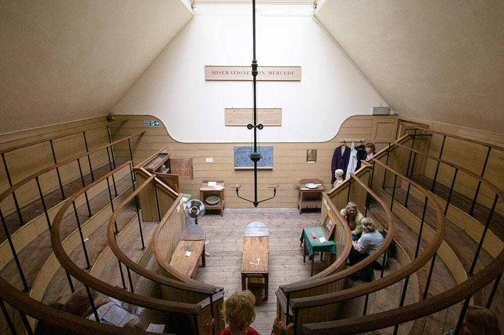 Hidden Gems in London - Old Operating Theatre Museum