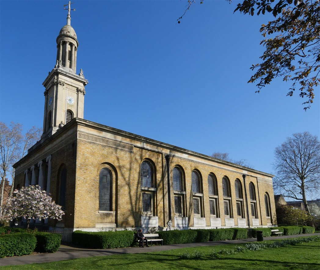 Hidden Gems in London - St Peters Walworth London