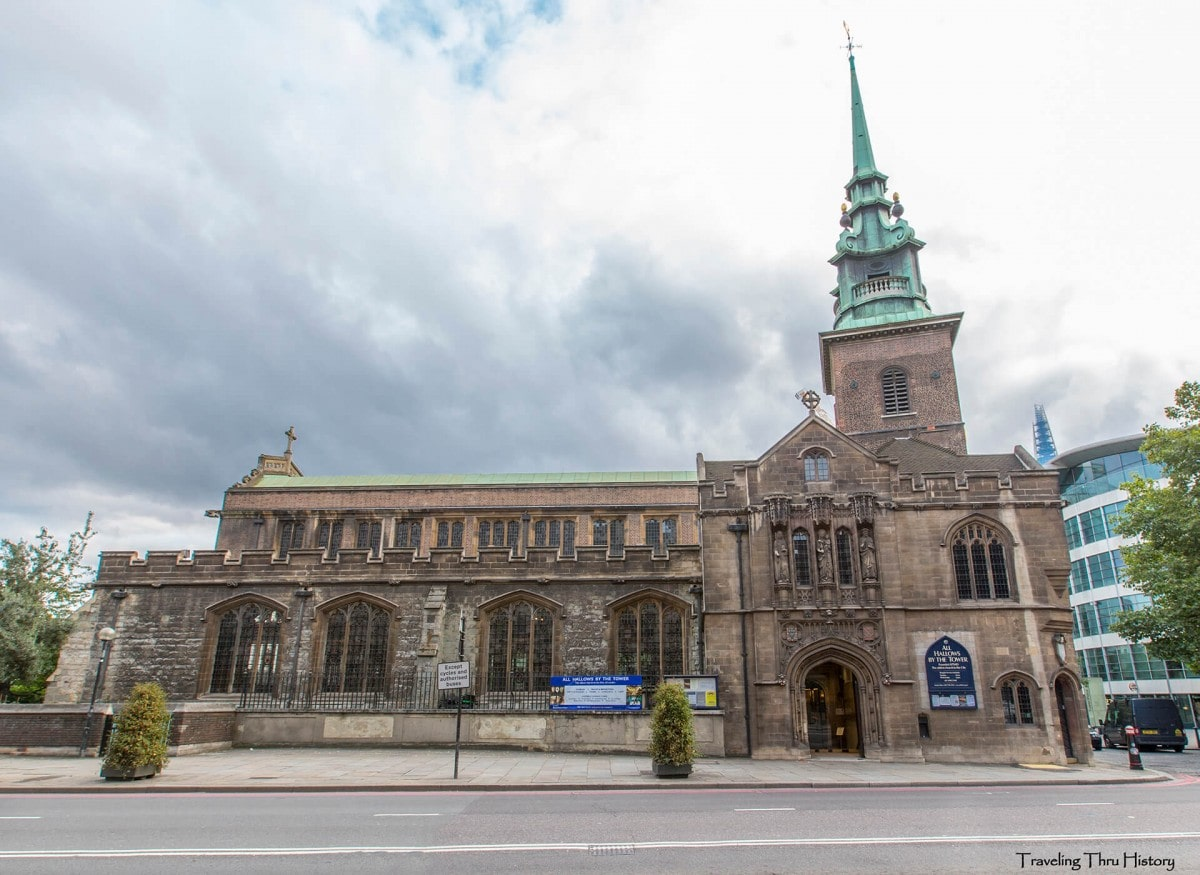 Non-touristy things to do in London - All Hallows by the Tower