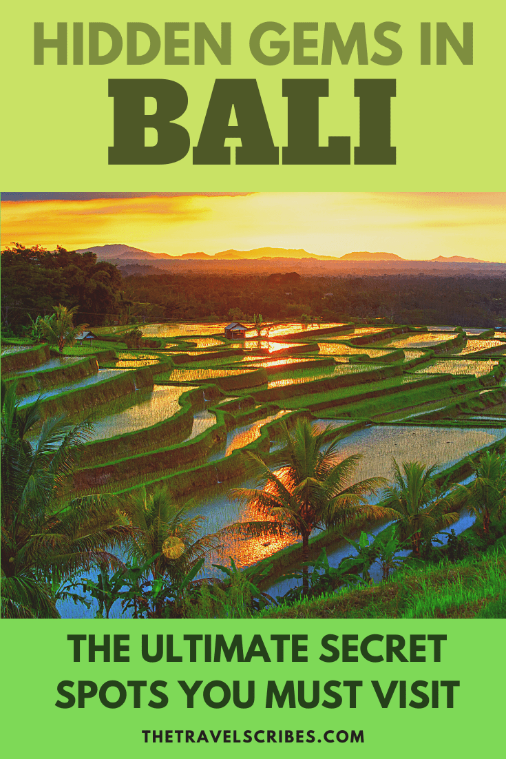 The ultimate hidden gems in Bali; all the secret spots you have to visit on Bali, Indonesia