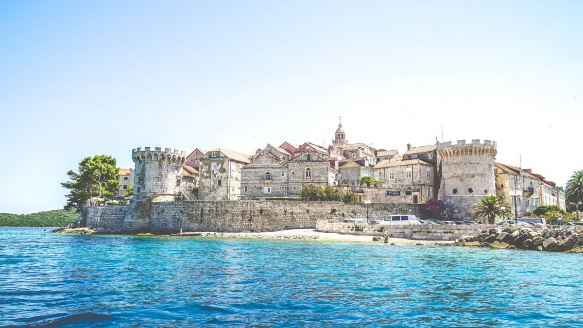 Head to Korcula, after a trip in Dubrovnik Croatia