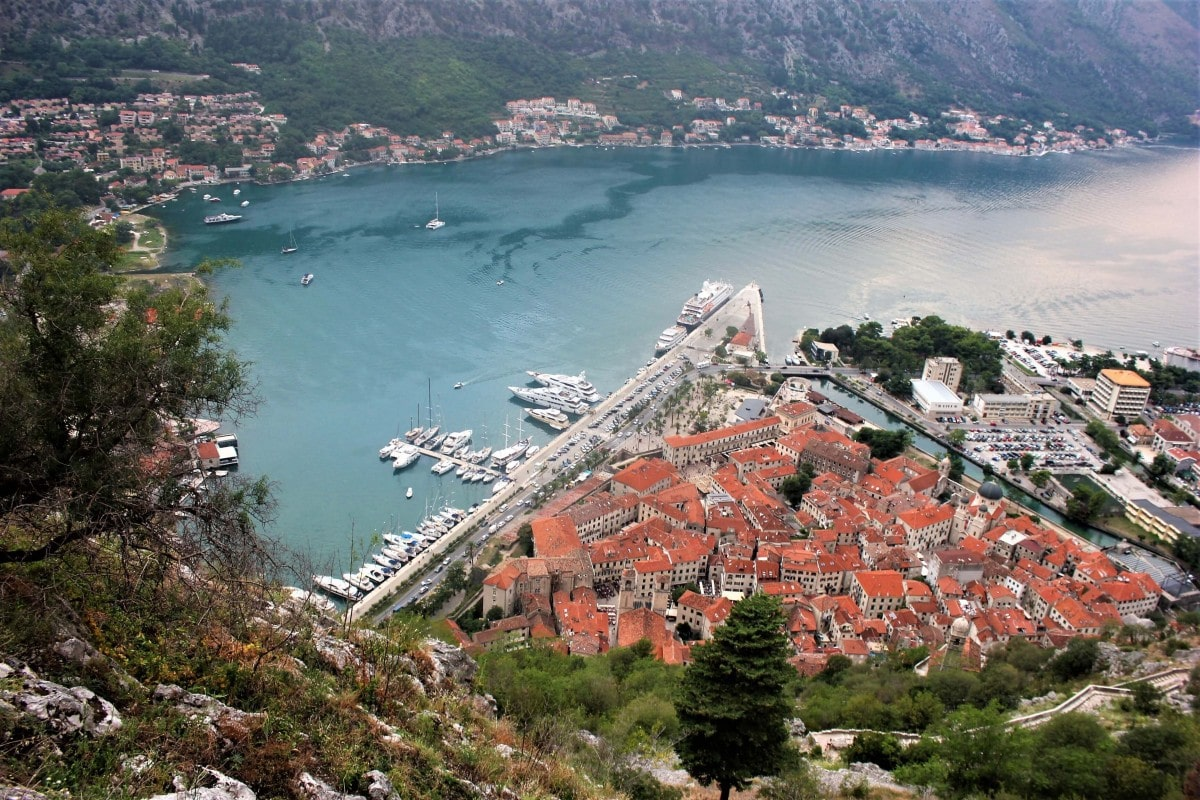Kotor Montenegro is a perfect one day trip from Dubrovnik