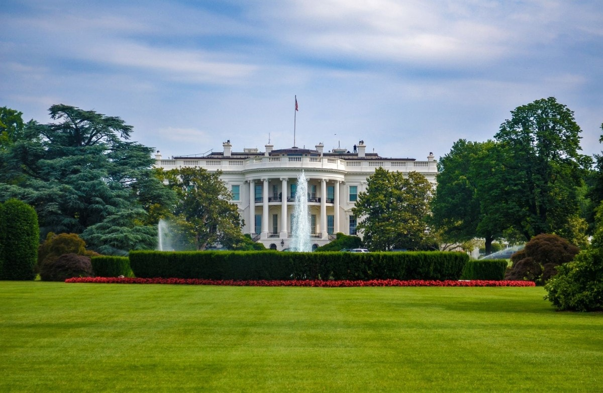 American Landmarks - The White House home of the US president